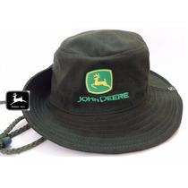 Chapéu John Deere Verde Australiano 100% Original