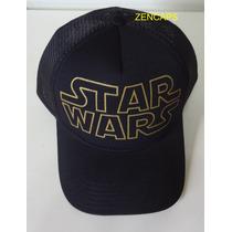 Boné Trucker Cap Star Wars Guerra Nas Estrelas