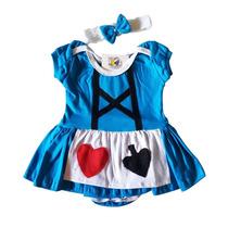 Fantasia Body Bebê Alice