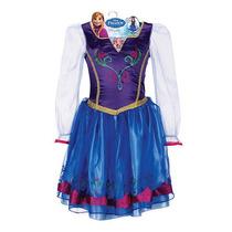 Fantasia Disney Frozen Anna Tamanho Unico