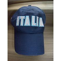 Bone Cap Unisex Italia Italy Aba Curva 58cm 100% Algodão