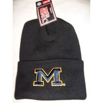 Gorro Toca Preta E Amarela M Universidade Michigan U.s.a