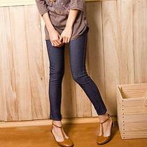 Legging Jeans C/ Lycra Dark Blue Manequim: 38 - 42 Tam P / M