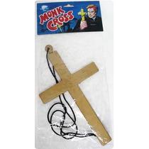 Acessórios Fantasias Festas Carnaval Crucifixo Cruz Padre !!