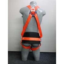 Cinto Paraquedista Com Proteção Lombar Poste E Torre