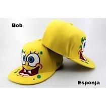 Bonés Bob Esponja - Lula Molusco - Patrick