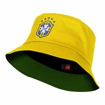 Chapeu Bone Nike Brasil Cbf Bucket