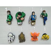 Jibbitz Crocs Botons Ben 10 - 4 Unidades