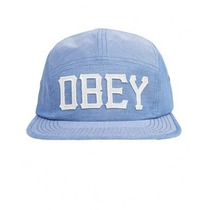Boné 5 Five Panel Obey Skate Importado Strap Snap Original