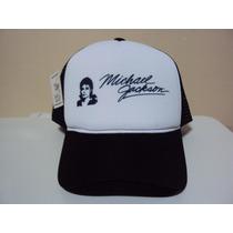 Boné Michael Jackson Exclusivo Trucker Snapback Frete Grátis