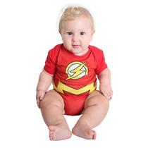 Fantasia Flash Bebê Verão Liga Da Justiça Sulamericana