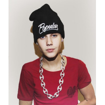 Touca Popular Justin Bieber Pronta Entrega Obey Gorro