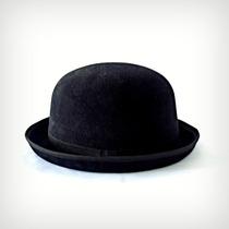 G - Chapéu Chaplin Coco 3,5cm De Aba Cinza
