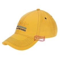 Boné Classic Amarelo 100% Algodão C/ Velcro P/ Regulagem