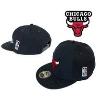 Boné Chicago Bulls Aba Reta Cinza (promoção)