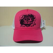 Boné Caveiras Mexicanas Beijando Rosa Frete Gratis