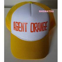 Boné Agent Orange Trucker Cap Hardcore Skate