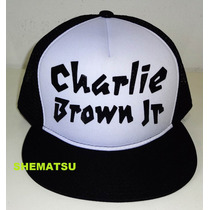 Bone Cbjr Charlie Brown Jr Chorão Trucker Aba Reta