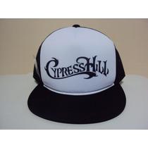 Boné Aba Reta Cypress Hill Trucker Frete Grátis