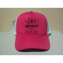 Boné Rihanna Shine Diamond Snapback Frete Gratis
