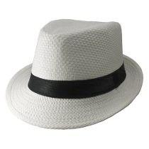 Chapéu Panamá Moda Carioca Importado Aba Curta Mercado Envio