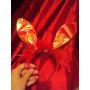 Tiara Coelhinha Vermelha