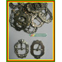 1 Peça Fivela Antiga Em Alpaca (metal Branco)corneta Nº 111.