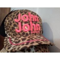 Boné Feminino John John De Oncinha Bordado - Cod 011
