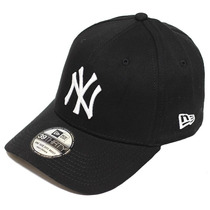 Boné Ny New York Yankees Wob Black - High Crown - Aba Curva