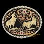 Fivela Montana Silversmiths Importada Laço Em Dupla 9158 - Ú