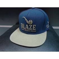 Boné Blaze Supply Azul Cinza Starter