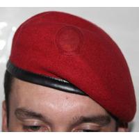 Boina Bakarra Francesa Militar Exército Verde Preta Vermelha
