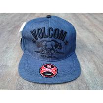 Boné Volcom Stone Republic Skate Aba Reta Snapback