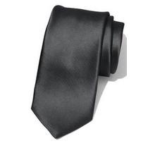 Gravata Preta Slim Fit Skinny 5cm Microfibra Pronta Entrega
