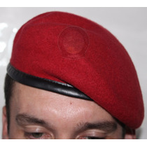 Boina Bakarra Francesa Militar Policial Exército Verde Preta