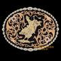 Fivela Montana Silversmiths Importada Montaria Em Touro 9157