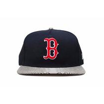 Boné New Era Snapback - Boston Red Sox - Frete Fixo 25,00