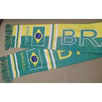 Torcida Brasil Lindo Cachecol Com As Cores Da Bandeira
