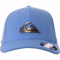 Boné Quiksilver Metal Flexfit Azul B B