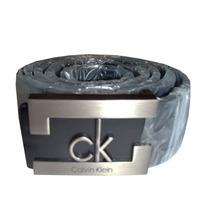 Cinto Calvin Klein Couro Legítimo Rembo Preto Original
