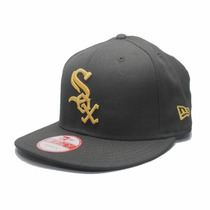 Boné Aba Reta Chicago White Sox Basic Black/gold - Snapback