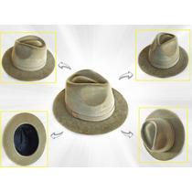 M - Chapéu Indiana Jones Camurça