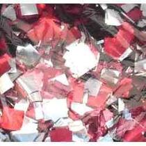 Papel Picado Vermelho/prata 1kg