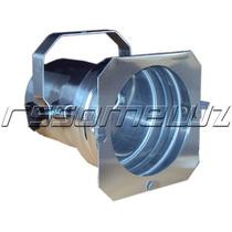 Kit Com 10 Unidades - Canhao Spot Par 38 - Polido (prata)
