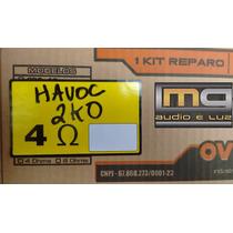 Reparo Alto-falante Oversound 18 - 2 K0 - 4 Ohms