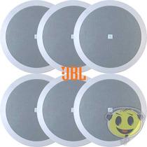 Arandela Som Ambiente Jbl Selenium 6 Unid P/ Gesso Kadu Som