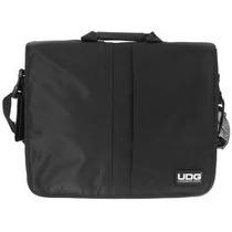 U9470bl/or Udg Courier Bag Deluxe Preto/interior Laranja