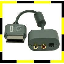 Cabo Adaptador De Audio Optico Digital / Rca Para Xbox 360