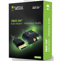 Cabo Adaptador Áudio Rca Ótico Digital Turtle Beach Xbox 360