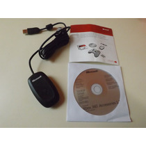 Receiver Para Controle Wireless Xbox360 No Pc 100% Original